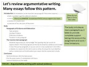 Pattern Of Essay Writing by Argument Writing Grade 7 Copyright 169 2015 By Write Score Llc Ppt