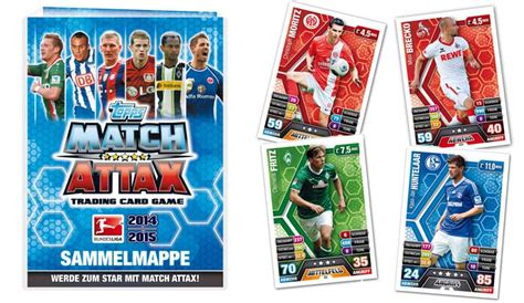 make a match attax card match attax bundesliga 2014 15 topps released in germany