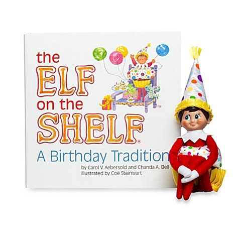 On A Shelf Birthday by The On The Shelf 174 A Birthday Tradition Book Bed Bath