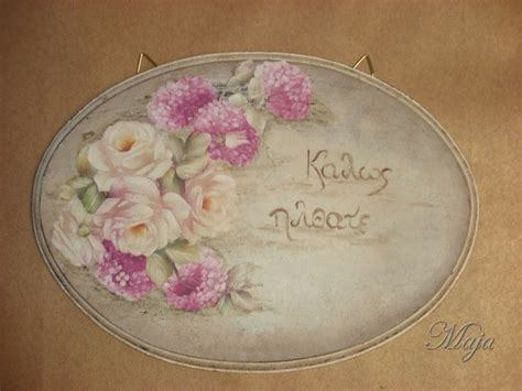 Decoupage Signs - 28 best images about decoupage plates on