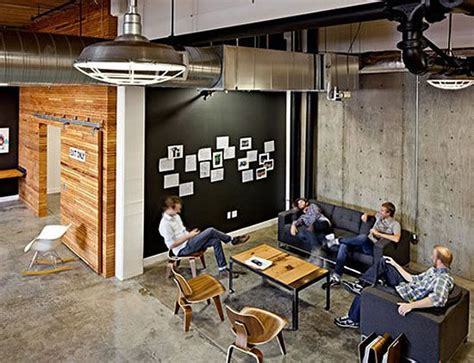 Creative Ideas For Office 25 Best Ideas About Industrial Office Space On Pinterest Industrial Office Design Office