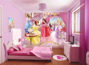 Wallpaper Kids Bedrooms Beauty Disney Princess Wallpaper For Kids Room On