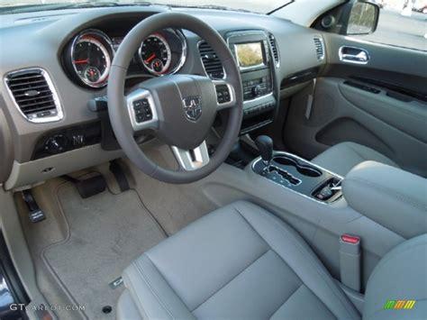2012 Dodge Durango Interior by Graystone Medium Graystone Interior 2012 Dodge
