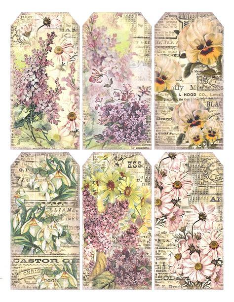printable paper labels lilac lavender springtime gift tags