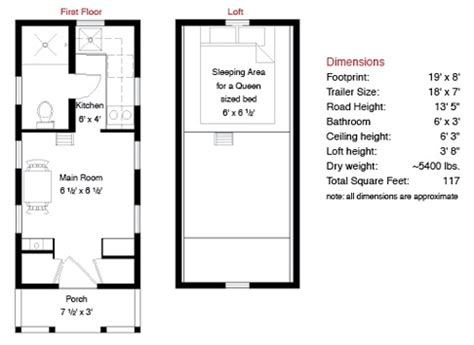 floor plans for tiny houses tumbleweed tarleton tiny house