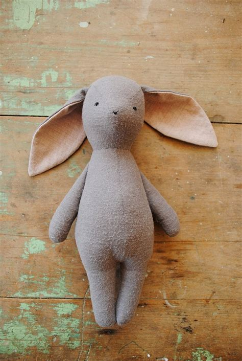 Handmade Rabbit - springtime for toys small for big