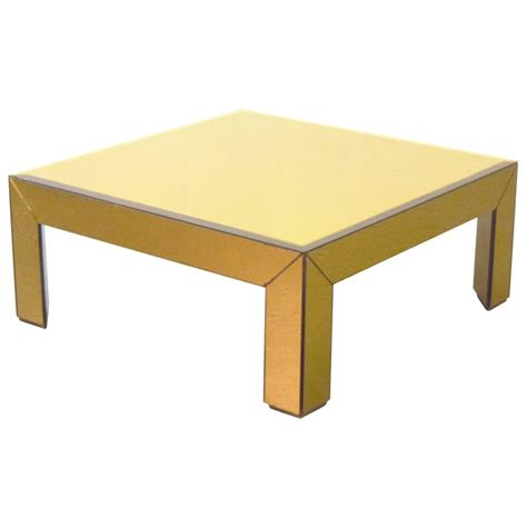 Mirrored Table L Bronze Mirrored Coffee Table For Sale At 1stdibs