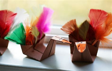 Thanksgiving Turkey Origami - origami turkeys let s explore