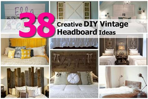diy vintage headboard 38 creative diy vintage headboard ideas