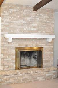how to paint a brick fireplace tutorial wants it