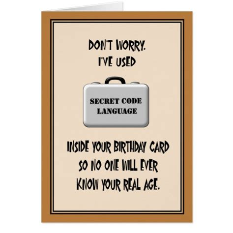 Funny 60th Birthday Card Quotes