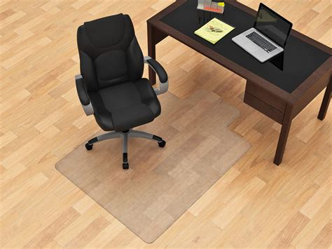 office chair mat 45 quot x 53 quot floor chair mat z line designs inc