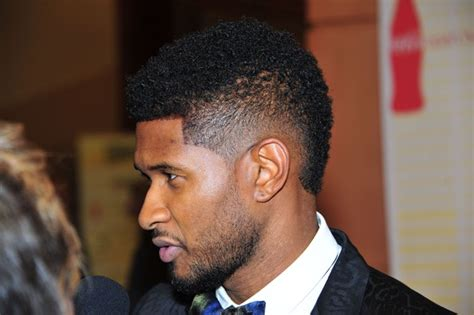 usher mohawk fade haircuts for black men 2014 usher mohawk haircut for black men usher hairstyles