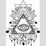 All Seeing Eye Pyramid Tattoo | 585 x 800 jpeg 107kB