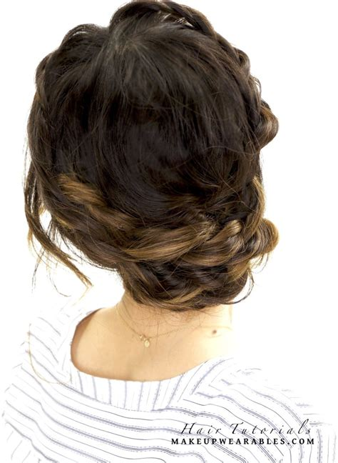 quick updos for long hair for dummies braided hairstyles for short hair step by step best hair