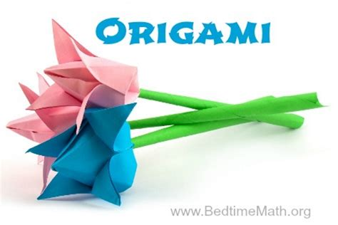 Origami Math - origami is creative math bedtime mathbedtime math