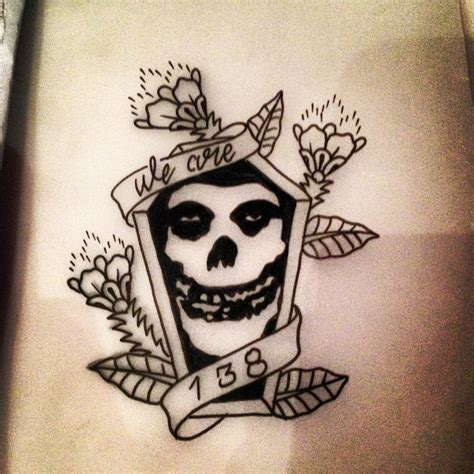 misfits tattoo designs best 20 misfits ideas on