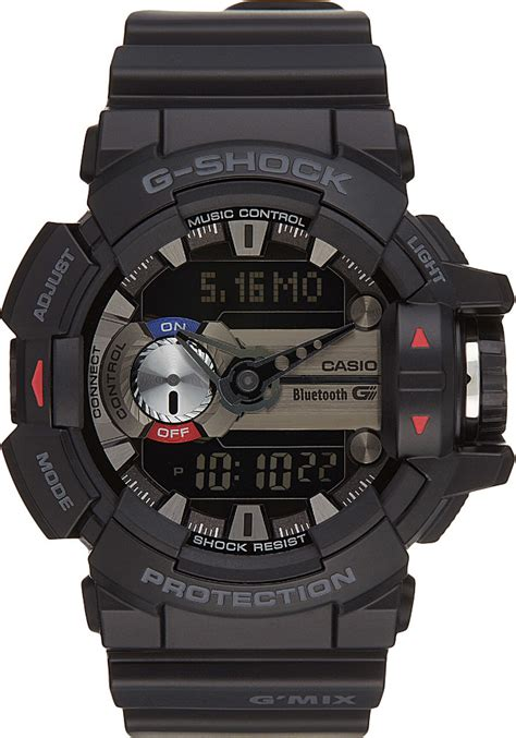 G Shock G Mix Black g shock gba400 1a g mix in black for lyst