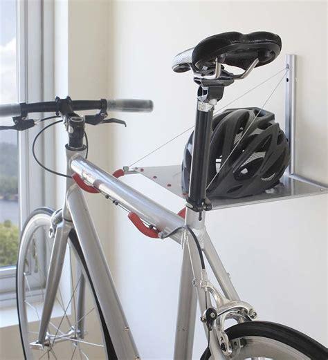 Folding Bike Rack by Space Saving Folding Bike Rack So That S Cool