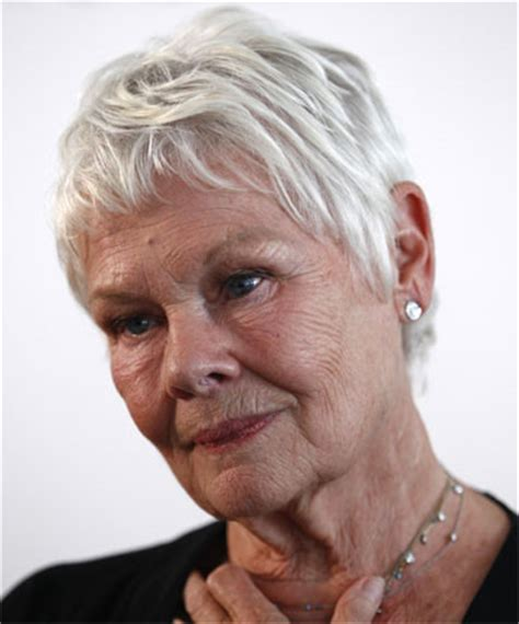 instructions to cut judidenchs hair thinning hair not just a male issue stuff co nz