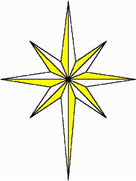 printable north star star clip art