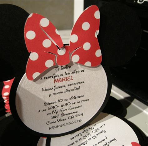Handmade Mickey Mouse Birthday Invitations - 17 best images about handmade children invitations cards