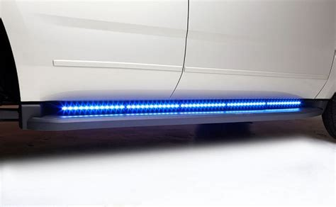 running board emergency lights whelen tracer series led 174 duo dual color running