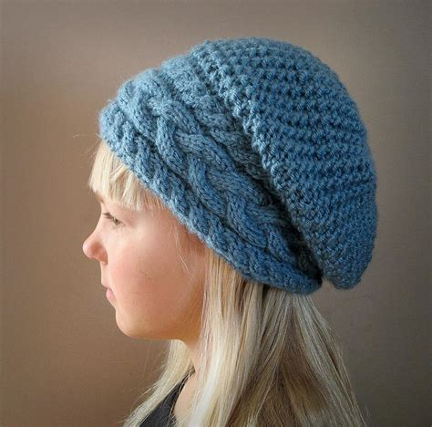 knitting pattern slouchy hat stillness of winter slouch hat by knotenufknit craftsy