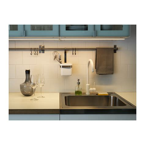illuminazione a led ikea omlopp led worktop lighting aluminium colour 40 cm ikea