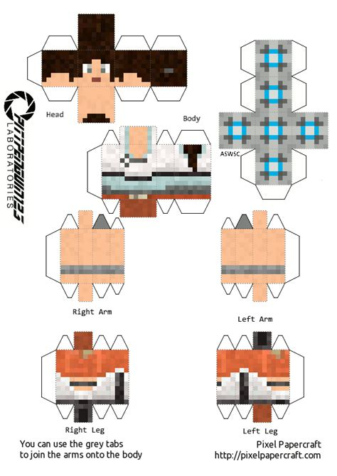 portal papercraft 28 images wheatley cubeecraft portal