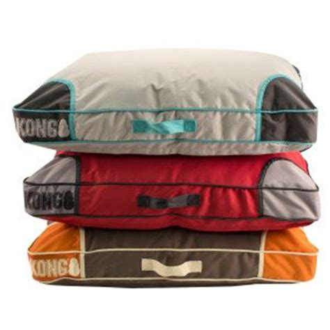 kong beds amazon com kong chew resistant heavy duty pillow bed