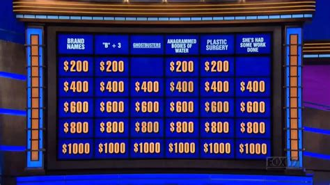 celebrity game shows 2019 ghostbusters category on jeopardy youtube