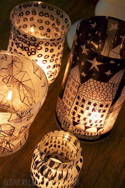How To Make Tissue Paper Lanterns - alisaburke tissue paper lanterns
