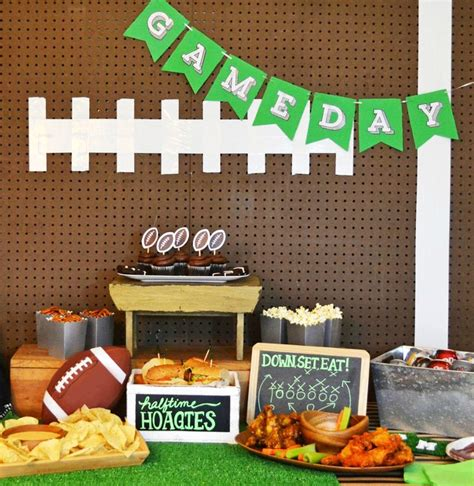 homegating football party guide and printables u create