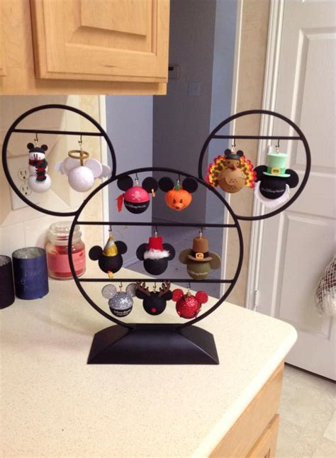disney finds hallmark ornament  antennae topper stand