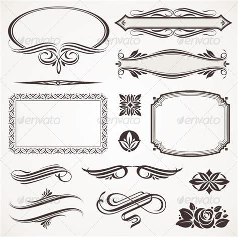page design elements vector 3d models decorative elements elite decor 187 maydesk com