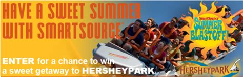 Www Smartsource Com Sweepstakes - smartsource summer blastoff sweepstakes win a trip to hersheypark