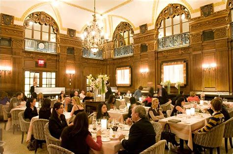 oak room new york world timelessness gilded and truffled anew the new york times