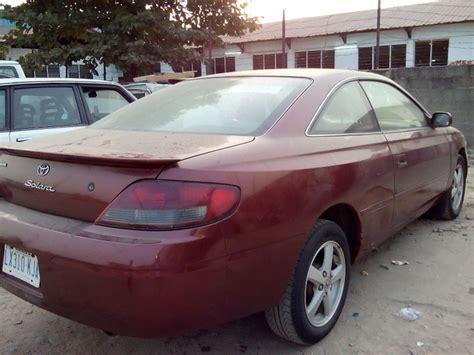 Toyota Solara For Sale In Nigeria Niger Used Toyota Solara 2002 Model For Sale Autos Nigeria
