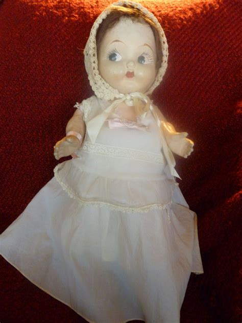 composition carnival doll vintage 1920 s composition carnival doll kewpie style from