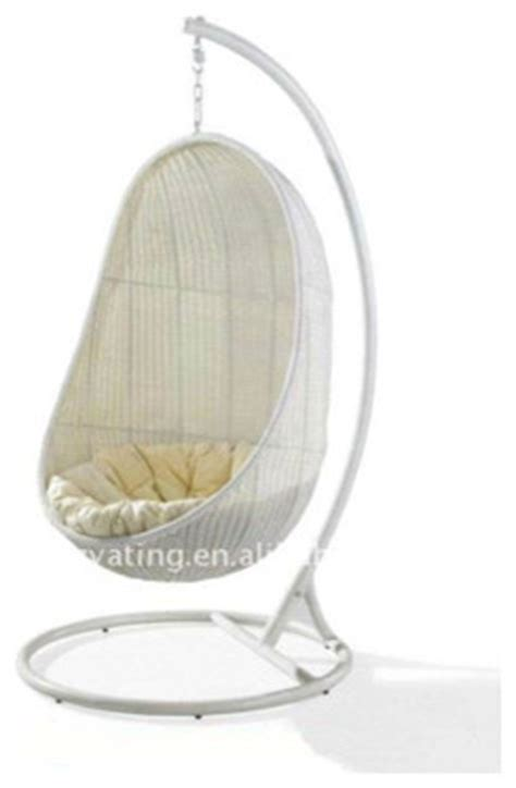 swinging chairs indoor modern hanging indoor rattan swing chair contemporary living
