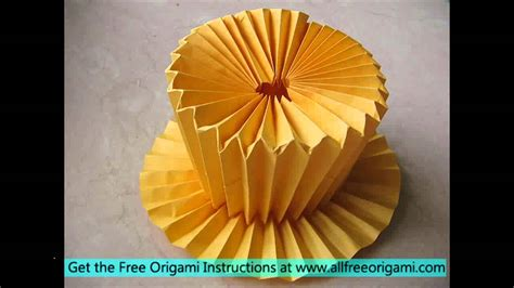 Origami Competent Cells - top hat origami gallery craft decoration ideas