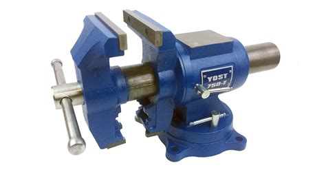 picture of bench vice yost 750 e rotating bench vise amazon com industrial scientific
