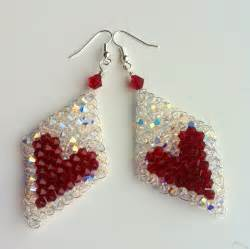 Beads For Jewelry Making Uk - make your own beaded heart earrings 171 london jewellery