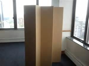 5 1 2 ft durable cardboard diy room divider
