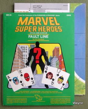 ma / mh module series marvel super heroes wayne's