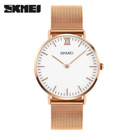 Jam Tangan Pria Premium Quiksilver skmei jam tangan pria milanese premium stainless steel 1182 gold jakartanotebook
