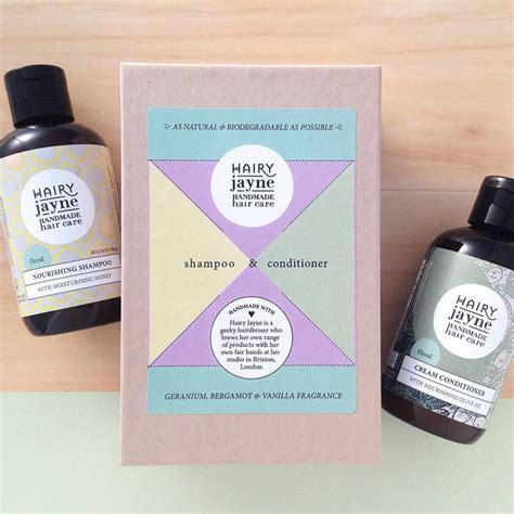 Handmade Hair Products - shoo conditioner box set by jayne handmade hair