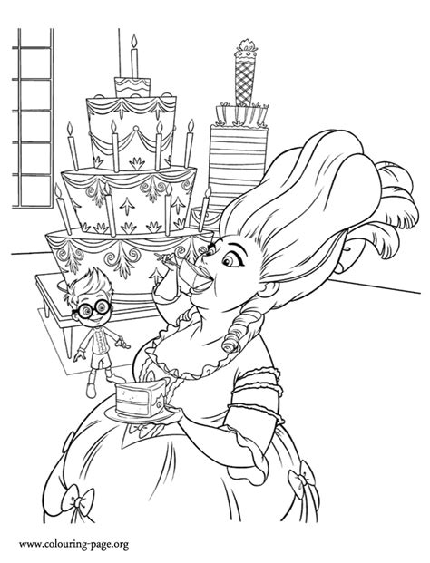 look it seems that marie antoinette loves cake how about