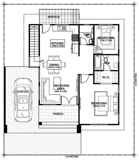 kassandra  storey house design  roof deck home design